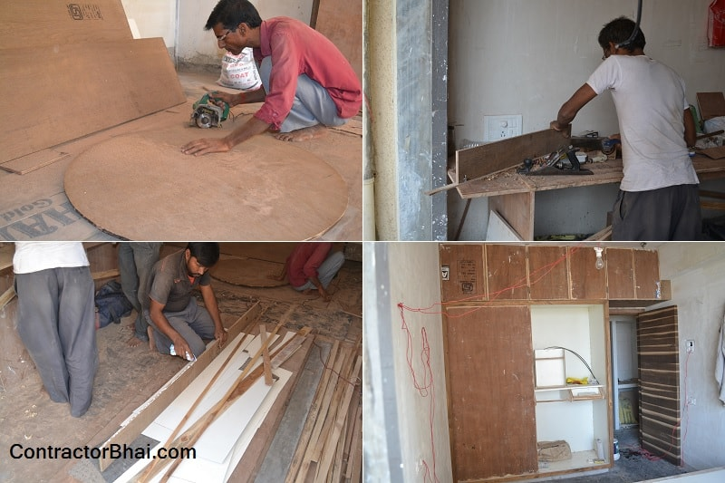 Time taken to do Furniture for 1BHK