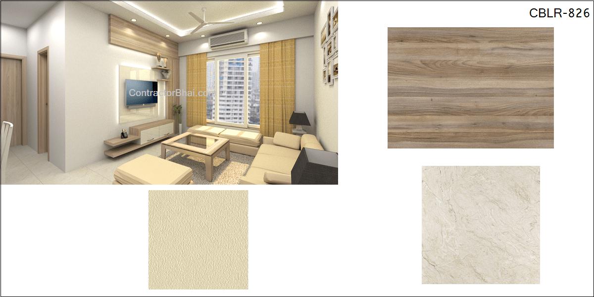 Livingroom Colour Scheme Contractorbhai
