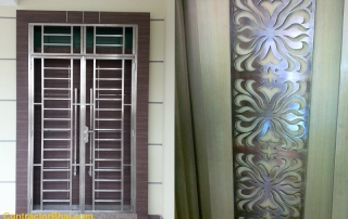 Mild Steel Safety Grills for Doors