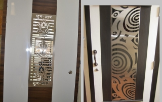 SS Laser-Cut Plates for Doors