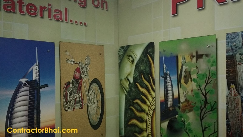 Digital Printing in Architectural World