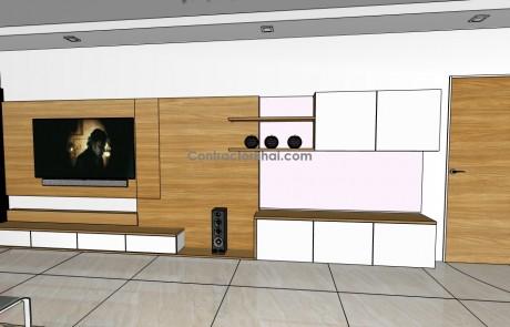 3D-LivingRoom-RoughSketch-1.0