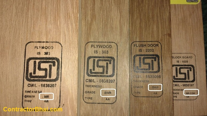 What is BWP and BWR grade Plywood? - ContractorBhai