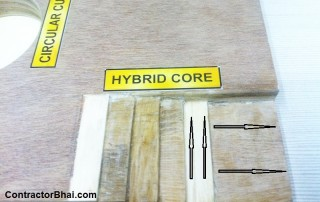 What makes Plywood strong