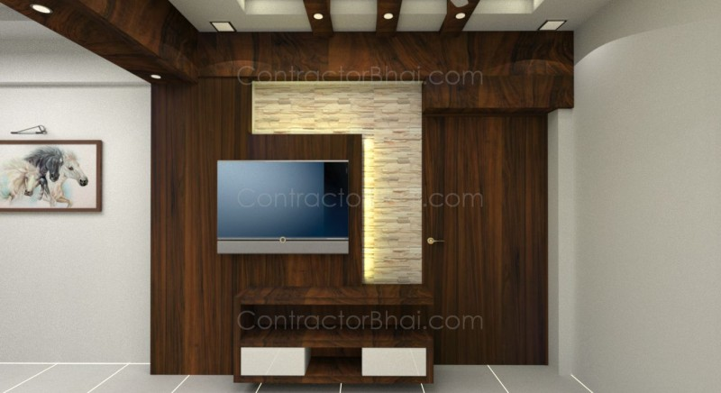 2bhk interior designing in gota ahmedabad contractorbhai for How much for interior design services