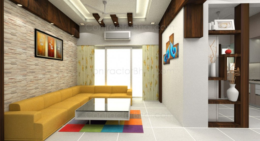 2BHK Interior Designing In Gota Ahmedabad ContractorBhai