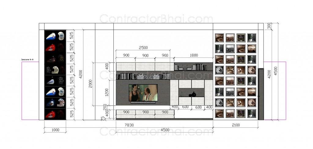 2BHK Interior Design NewDelhi