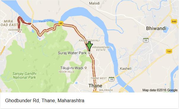 Ghodbunder Road Thane Mumbai Maharashtra