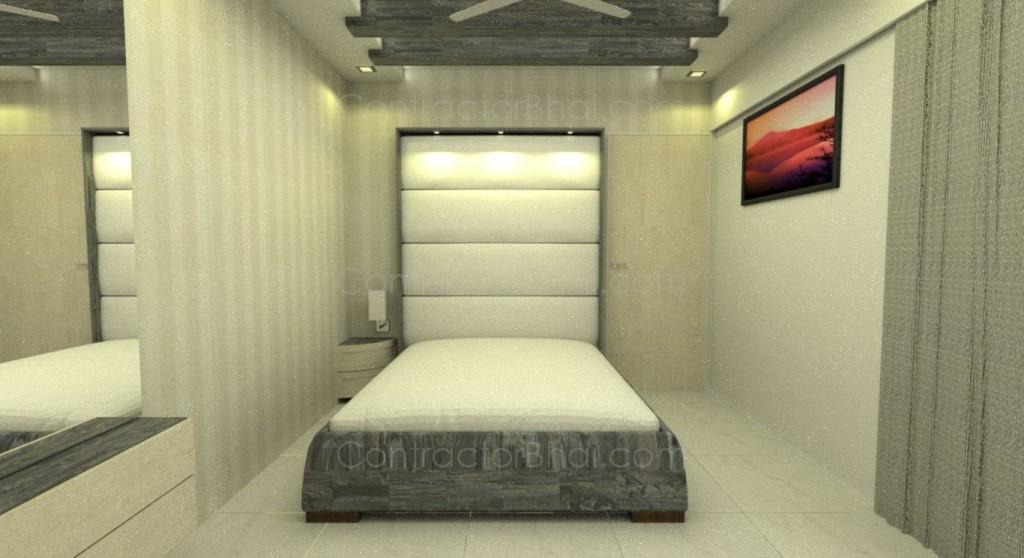 Master Bedroom 2BHK Pune