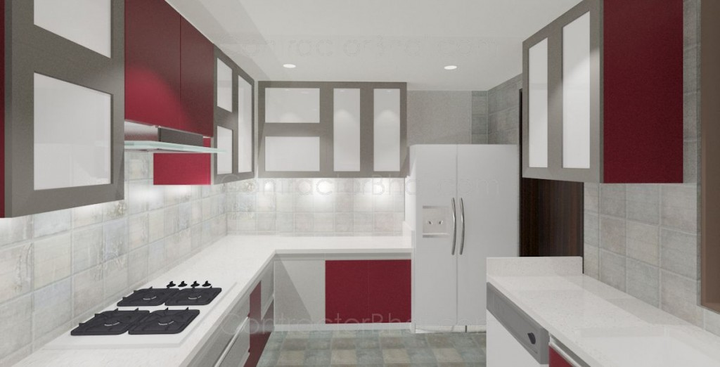 Interior design for 3bhk home in sector 137 noida for Home interior design services