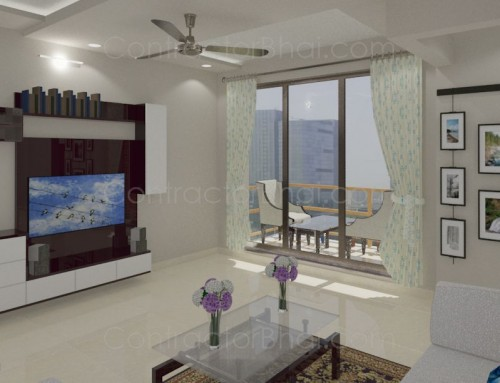 Interior design for 1 bhk flat for 1 bhk flat interior decoration