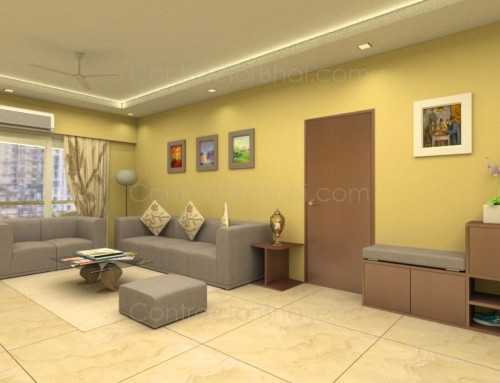 Interior design for 1 bhk flat for 1 bhk flat interior decoration image