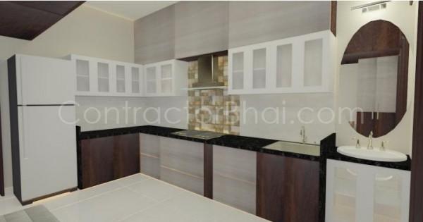 1rk residence design mumbai