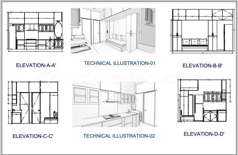 Interior designing for 1 rk in kurla mumbai contractorbhai for Interior decoration for 1rk