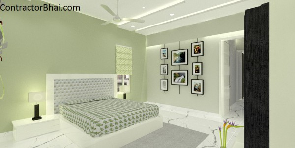 2BHK Home interior Mumbai Contractorbhai 3D Design Service