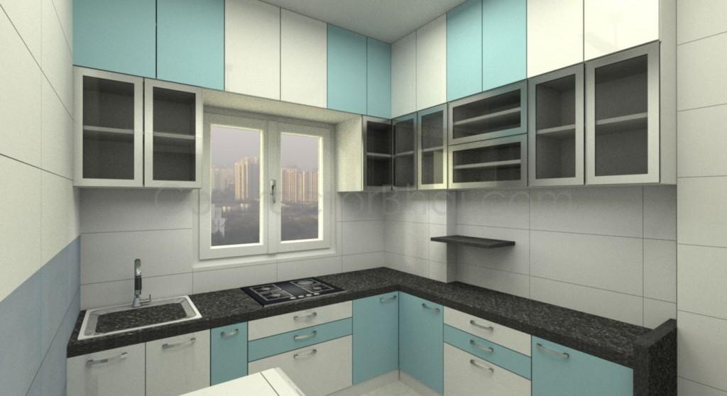 1bhk interior designing in santacruz mumbai contractorbhai for Interior decoration for 1rk