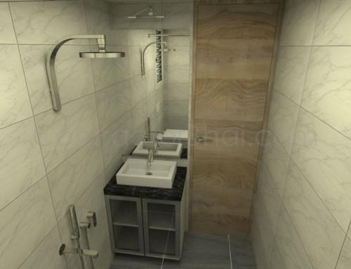 1BHK Interior Designing in Santacruz,Mumbai