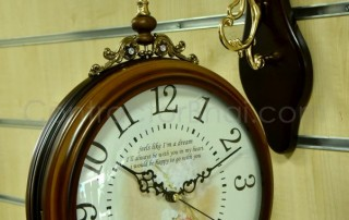 home interior wall clock india at-317b