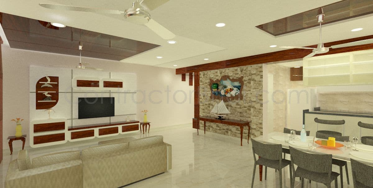 3d interior design service for indian homes contractorbhai for Interior designers jobs in mumbai