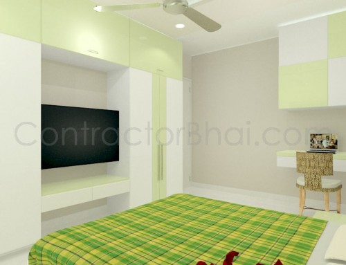 Interior design ideas for 500 square feet 1bhk flat for 1 bhk interior designs