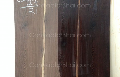 Black Wenghe Crown Cut Veneer