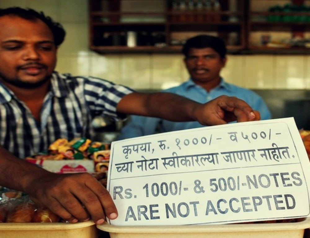 Demonetization impact on purchasing new material ( from vendor to shopkeeper to customer)