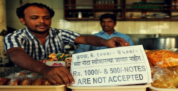 Demonetization impact on purchasing new material