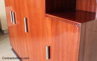 Where is wood polishing done