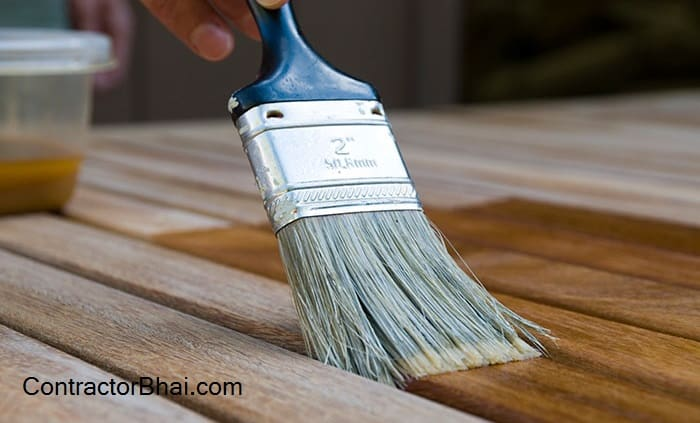 Wood Polishing for Exposed Areas