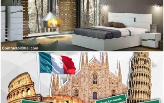 Italian Furniture Tour- Indian Home Owner Visits Italy