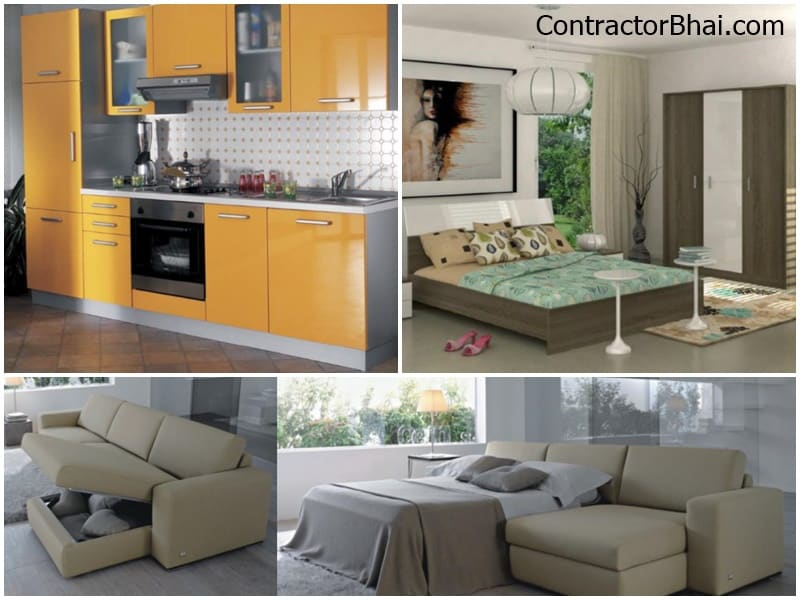Italian Furniture For 2 Bhk Home In India Contractorbhai