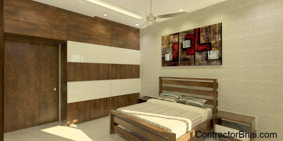 Contemporary Master Bedroom Banashankari Bangalore