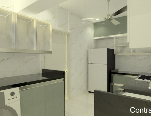 A Legitimate Modern Kitchen Design, Bangalore