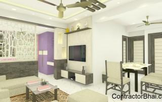 Mysore Road, Bangalore- Living room