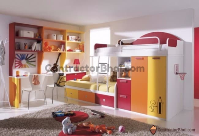 Contractorbhai-Kids-Room-Different-Furniture-Design