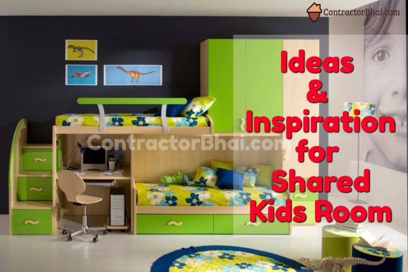 Realistic Design Ideas For Shared Kids Room Contractorbhai