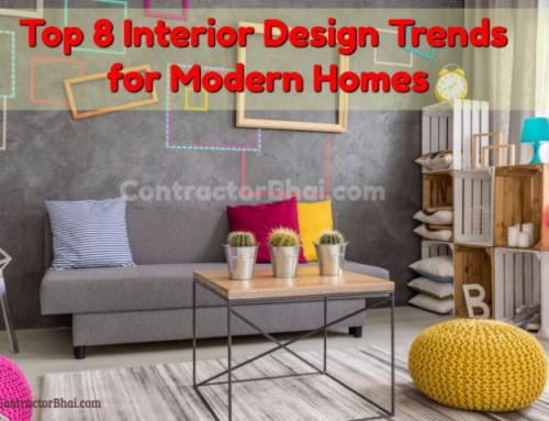 8 Interior Design Trends for Modern Homes