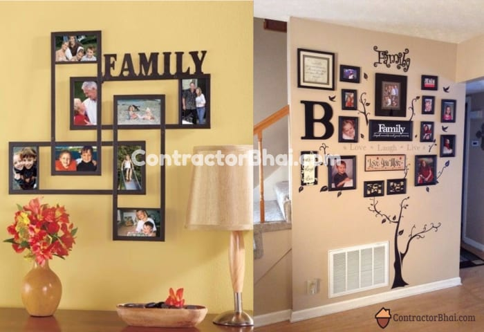Modern Picture Frame Collages For Wall Ideas Festooning - Wall Art ...