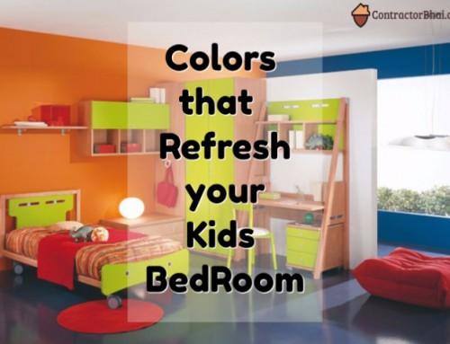 These Colors can refresh your Kids Room