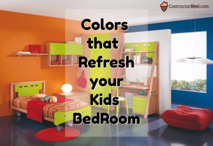 Contractorbhai-Refreshing-color-for-Kids-Bedroom