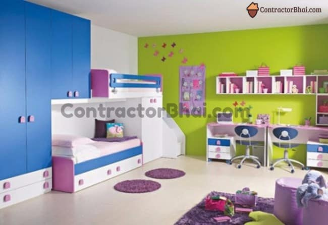 Contractorbhai-Shared-Kids-Room-Basic-Storage