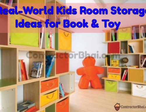 Kids Room  Realistic Storage Ideas for Books & Toys
