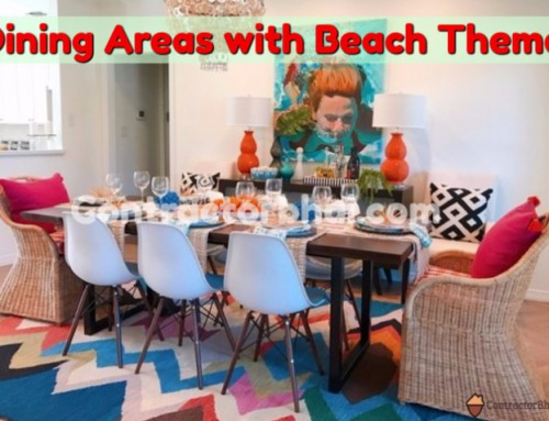 Ways to Style you Dining Space with Beach Theme