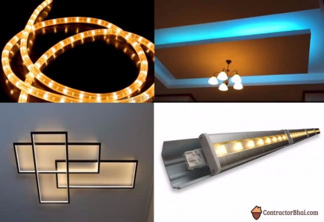 Contractorbhai-Types-of-Popular-Cove-Lights