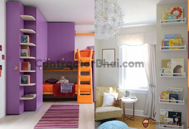 Contractorbhai-Vertical-Storage-Ideas-Kids-Room