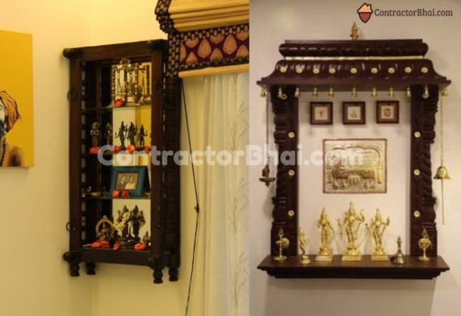 Contractorbhai-Wall-Mount-Mandir-for-Modern-Homes