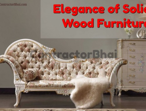 Elegance of Solid Wood Furniture