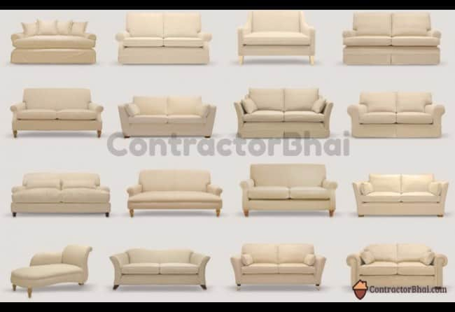Contractorbhai Diffe Style Of Sofas