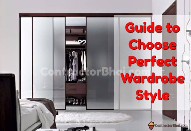 Tips To Choose Perfect Wardrobe For Your Bedroom ContractorBhai Fascinating Wardrobe Interior Designs Style
