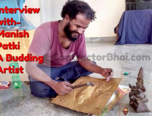 Interview with Manish Patki- A Budding Artist